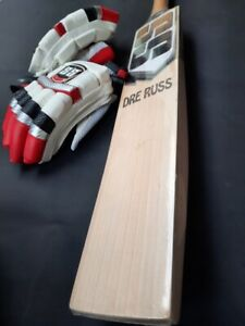 SS DREE RUSS BIG HITTER GRADE 1 PLUS ENGLISH WILLOW CRICKET BAT 2.9 NEW
