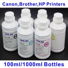 6x 1L Bulk Dye Ink for Canon HP Brother Printer - Desktop or Wide Format
