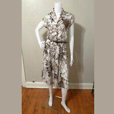Vintage Floral Disco Dress
