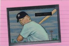 1996 TOPPS MANTLE FINEST #1  MICKEY MANTLE '51 RC  reprint