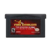 Fire Emblem The Binding Blade GBA Game Boy Advance Cartridge USA