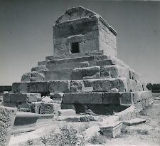 IRAN c. 1950 - Pasargades Tombeau de Cyrus Fars - DIV8528