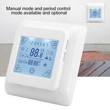 Digital LCD Programmierbar Raumthermostat Eingebettet Fußbodenheizung Raumregler