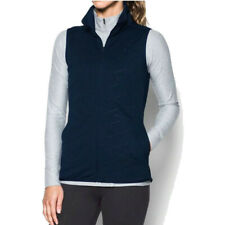 Under Armour Womens ColdGear Reactor Gilet Blue Running Outdoors Warm