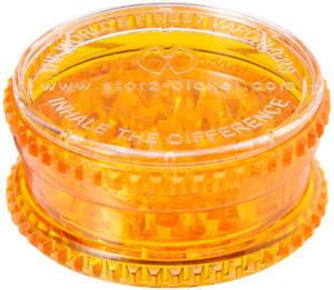 Stortz & Bickle 0930 Volcano Plastic Herb Grinder, Orange
