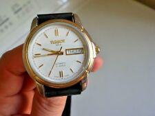 Vintage Tissot Automatic 21J Visodate Wristwatch Swiss Army Strap A660/760K NICE