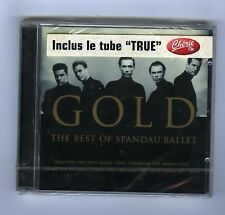BEST OF SPANDAU BALLET CD (NEW)  GOLD