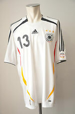 2006 Deutschland Trikot #13 Ballack Gr. XL Adidas WM DFB Home Germany EM