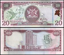 Trinidad & Tobago $20 Dollars, 2006, P-49A, UNC