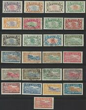 Reunion 60/88, 25 mint & used from long set