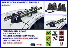 Portasci Magnetico Menabo' Porta Sci 2 paia di sci con sistema chiave antifurto