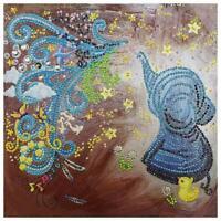 5d Bricolaje Especial Diamante Pintura Pavo Real Punto de Cruz Bordado Mosaico