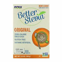 Better Stevia, Zero-Calorie Sweetener, Original, 100 Packets, 3.5 oz (100 g)