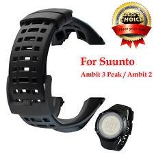 Luxury Rubber Watch Replacement Band Strap for Suunto Ambit 3 Peak / Ambit 2 UK