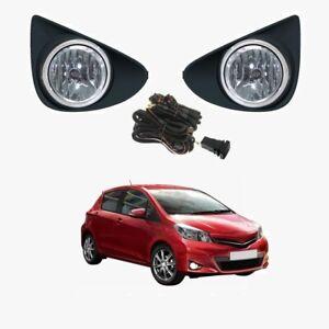 Fog Light Kit for Toyota Yaris NCP130 2011-2014 W/Wiring&Switch