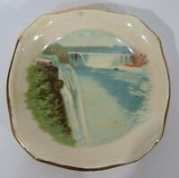 Vintage Rare General View Of Niagra Falls Royal Winton Made In England Souvenir