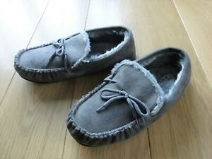 NEW - MENS GREY SLIPPERS UK SIZE 9