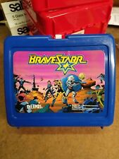 New Vintage thermos lunch box Brave Starr Nos