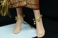 THAI TRADITIONAL RINGING ANKLET BANGLE COSTUME THEATER DANCING DRESS T4 JW220