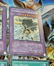 YUGIOH JAPAN SECRET RARE CARD CARTE PP12-JP007 Elemental HERO Great Tornado NM