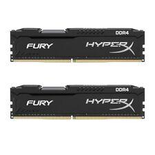 HyperX FURY Black 16GB Kit (2x8GB) 2133MHz DDR4 Non-ECC CL14 DIMM Desktop Memory