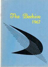 Fort Lewis Elementary School Salem Virginia 1967 Beehive Yearbook Annual 1-7th
