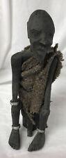 Carved African man Tourist piece