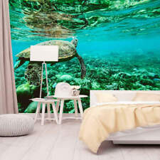 Turtle Blue Water 3D Full Wall Mural Photo Wallpaper Printing Home Kids Decor