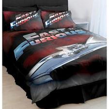FAST & FURIOUS QUEEN Bed Quilt Doona Duvet Cover Pillow Cases Set Christmas Gift