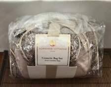 Cosmetic Bag set 3 PIECES Adrienne Vittadini NEW