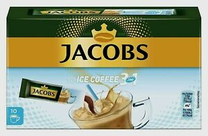 2 Pack JACOBS Instant-Coffee-Sticks Typ Ice Coffee (3 in 1) New from Germany