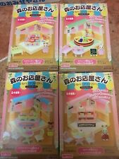Sylvanian Family Shops set of 4 ~ Rare Only 1 set