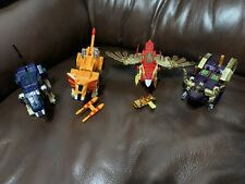 Power Rangers Wild Force Animal Zords Bootleg/KO (4) Lion, Eagle, Bison, Wolf