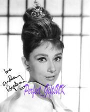 Audrey Hepburn SIGNED AUTOGRAPHED 10X8 REPRO PHOTO PRINT