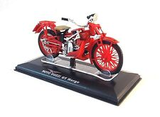 MOTO GUZZI GT NORGE ,RED DIECAST EDICOLA 1/24 COLLECTOR'S MOTORCYCLE MODEL ,NEW