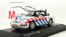 "Scale model car 1:43 Porsche 911 targa, 1991 ""Politie Netherlands"""