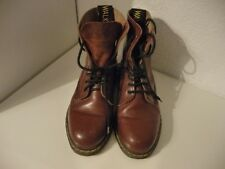 bottines walk world taille 37 style dr martens bordeaux
