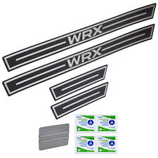 OEM 2015-2018 Subaru WRX STI Side Sill Plates Set of 4 Front Rear NEW E101SVA000