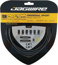 JAGWIRE UNIVERSAL SPORT ICE GRAY MTB BICYCLE BRAKE CABLE KIT