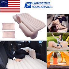 Inflatable Mattress Car Air Bed Travel Sleeping Outdoor Sofa Camping Rest Mat US