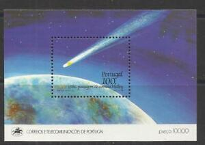 Portugal 1986 - Halley Comet S/S MNH
