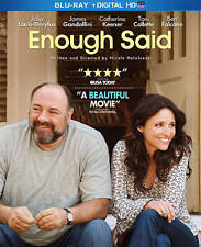 New!! Enough Said (Blu-ray/blu ray, 2014) Julia Louis-Dreyfus, James Gandolfini