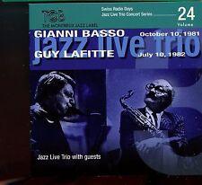 Gianni Basso - Guy Lafitte / Jazz Live Trio Concert Series Vol.24 - MINT