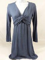 Women's Small Blue Esprit Long Sleeve Dress