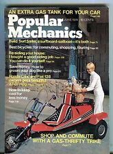 Popular Mechanics Magazine June 1974 Gas-Thrifty Trike 062017nonjhe