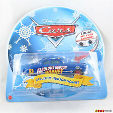 Disney Pixar Cars Doc Fabulous Hudson Hornet 2013 Holiday Edition - Look - eyes