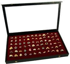 DISPLAY CASE BOX BRACELET NECKLACE JEWELRY ACRYLIC TOP