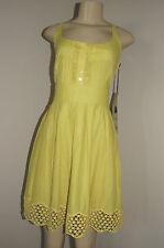 NWT Junior's Jack BB Dakota Runway Dress Yellow Sundress Medium Nice LQQK FS $76