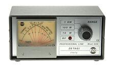 Zetagi 430 Cross Pointer SWR Power Meter 120-500Mhz CB HAM