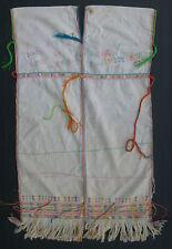 Thailande ancienne robe Sgaw KAREN textile Asie Birmanie Tribu